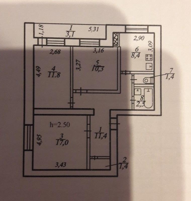 продам 3-комнатную квартиру Днепр, ул.Малышева , 11 - Фото 11