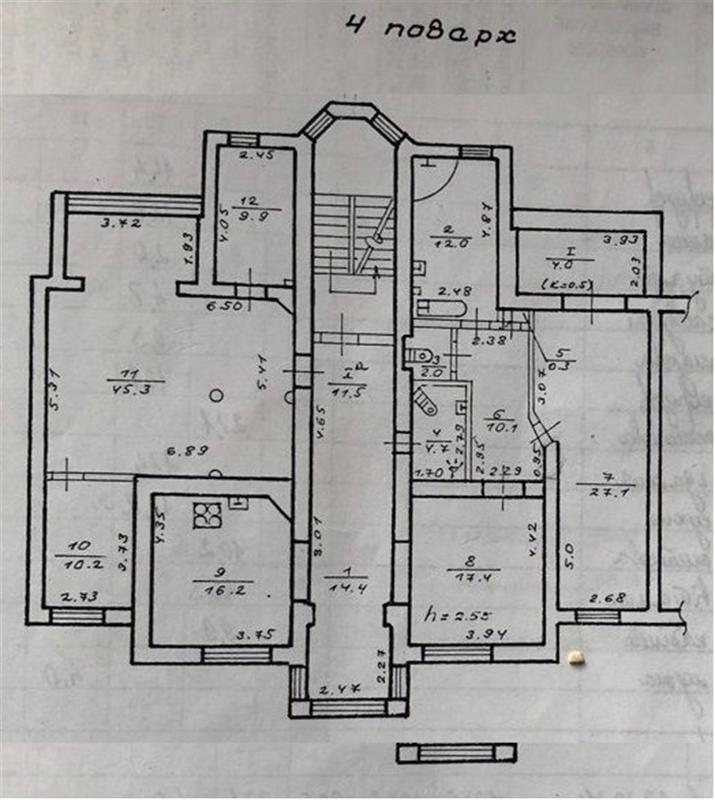 продам 5-комнатную квартиру Днепр, ул.Усенко , 21 - Фото 12