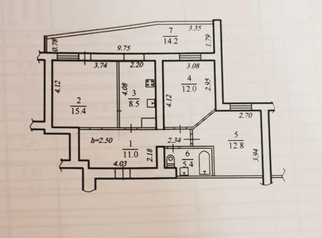 продам 3-комнатную квартиру Днепр, ул.Ширшова , 1 Б - Фото 12