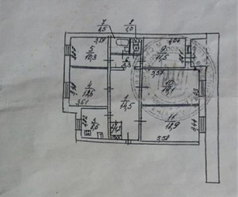 продам 5-комнатную квартиру Днепр, ул.Донецкое шоссе, 104 - Фото 10
