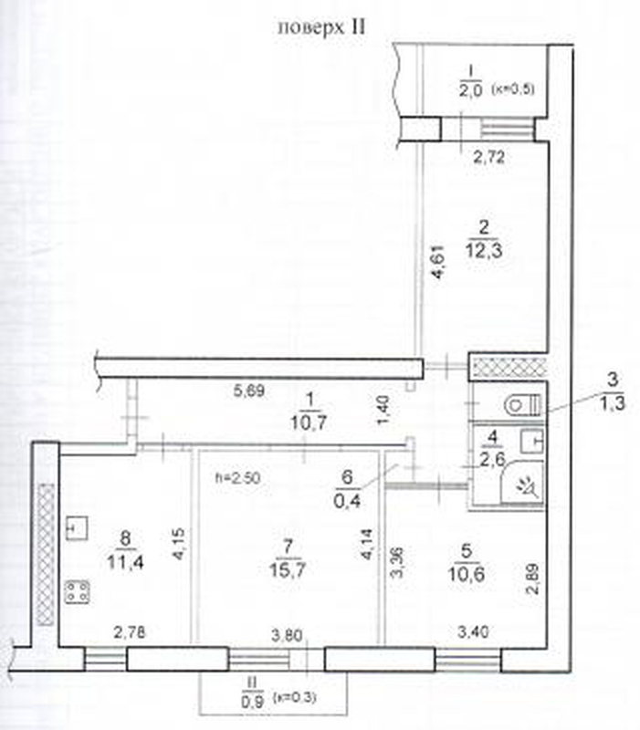продам 3-комнатную квартиру Днепр, ул.Янтарная , 34 - Фото 8