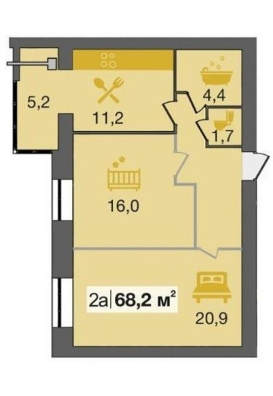 продам 2-комнатную квартиру Днепр, ул.Владимирская , 1 - Фото 12