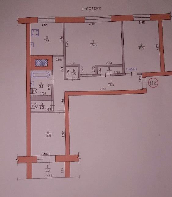 продам 3-комнатную квартиру Днепр, ул.Фрунзе , 20 - Фото 5