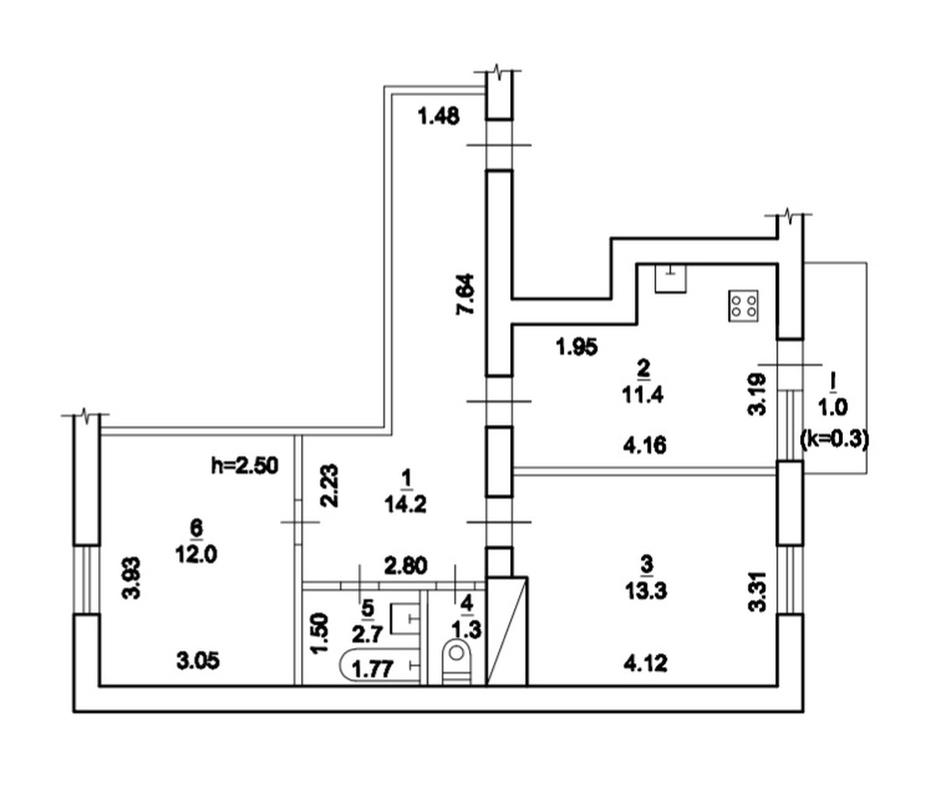 продам 2-комнатную квартиру Днепр, ул.Малышева , 32 - Фото 11