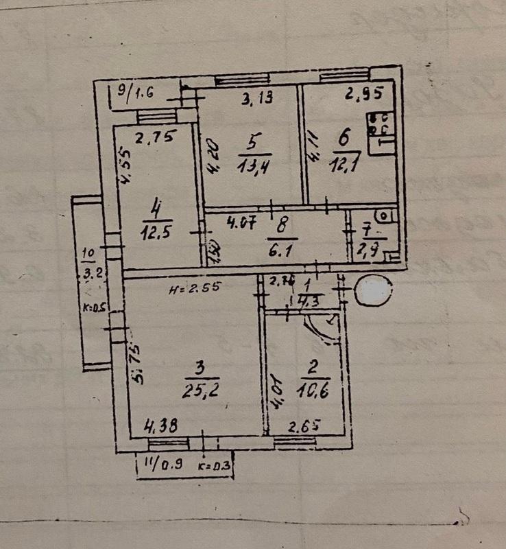 продам 3-комнатную квартиру Днепр, ул.Мира пр., 51 - Фото 14