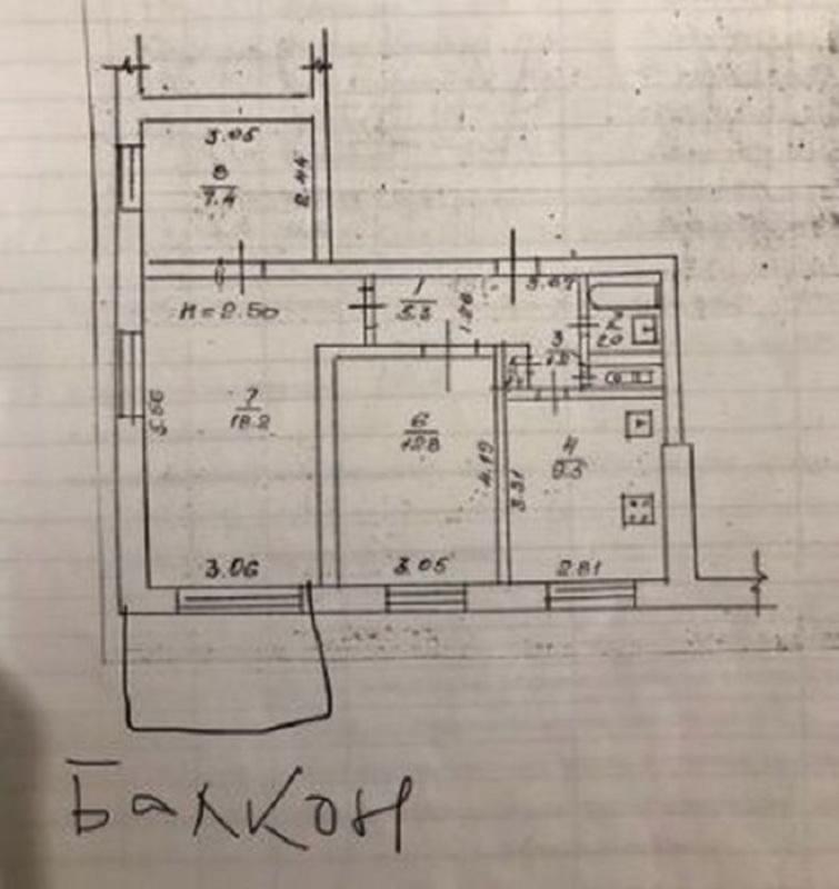продам 3-комнатную квартиру Днепр, ул.Холодильная , 61 - Фото 12