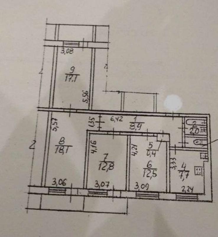 продам 4-комнатную квартиру Днепр, ул.Березинская , 28 - Фото 7