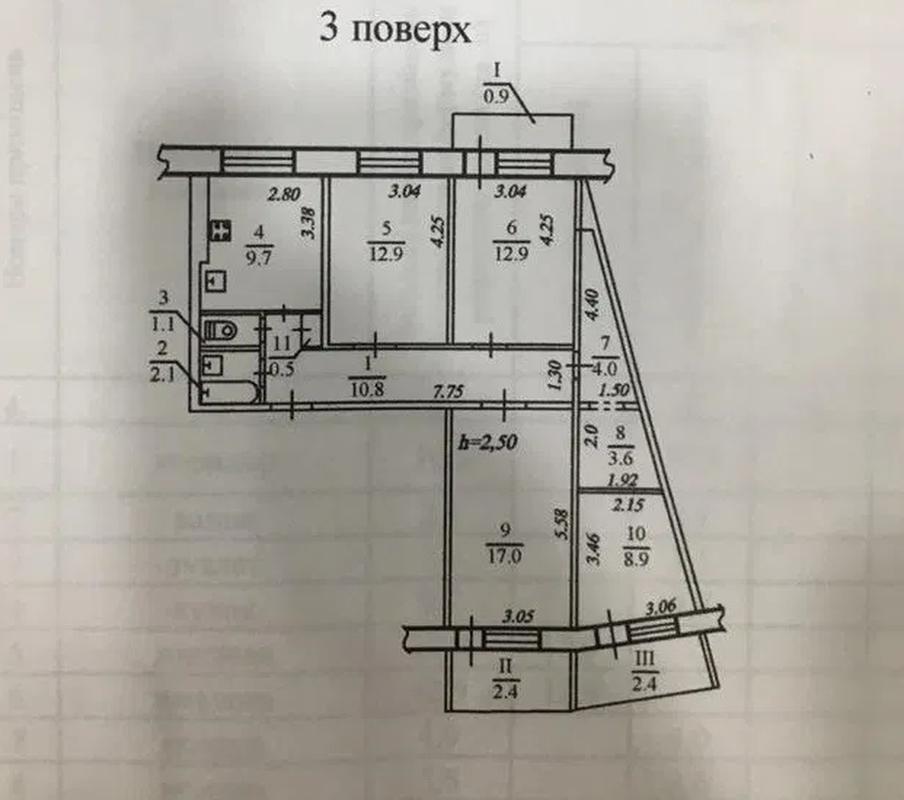 продам 4-комнатную квартиру Днепр, ул.Янтарная , 79 - Фото 7