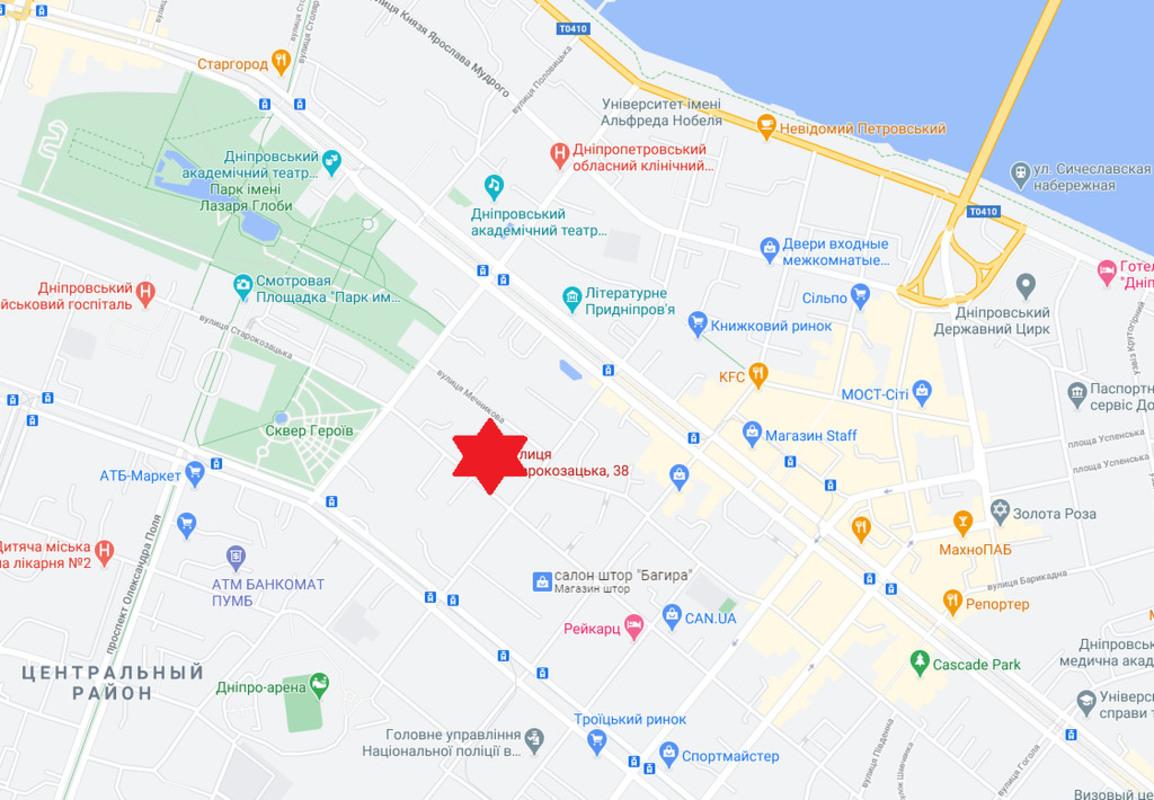 продам 4-комнатную квартиру Днепр, ул.Комсомольская , 38 - Фото 19