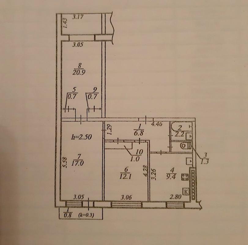 продам 3-комнатную квартиру Днепр, ул.Королевой Г. , 12 в - Фото 12