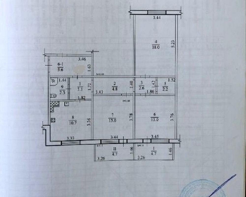 продам 3-комнатную квартиру Днепр, ул.Дарницкая , 9 - Фото 10