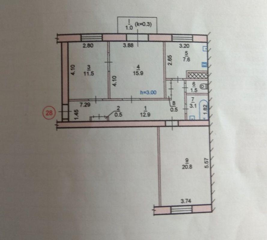 продам 3-комнатную квартиру Днепр, ул.Универсальная , 3 - Фото 7